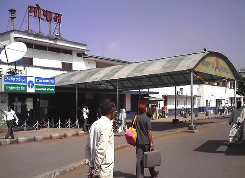 Bhopal Junction Train Station Code